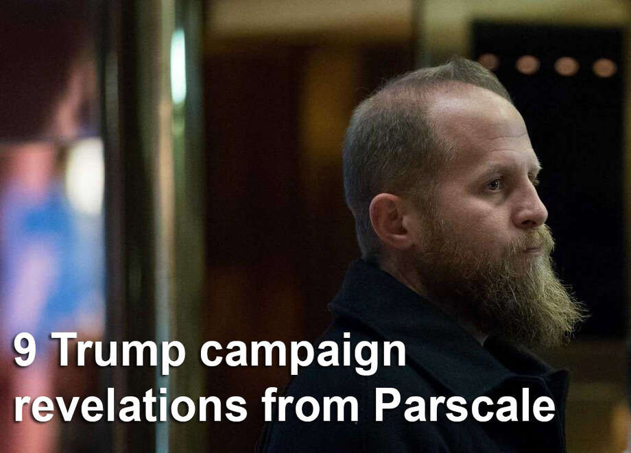 "Brad Parscale ran the digital operation of Donald Trump's presidential campaign out of San Antonio and is widely credited with helping him win. Click through the slideshow to see what campaign revelations Parscale told ""60 Minutes,"" which aired in October. Photo: FILE"