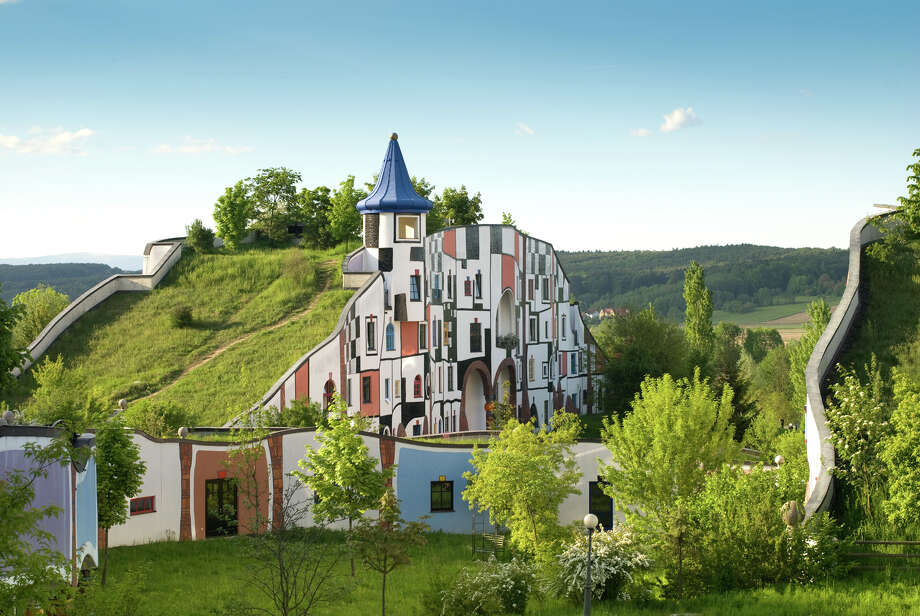 Designed by Austrian painter/architect Friedensreich Hundertwasser, Rogner Bad Blumau is said to be the world's largest inhabitable work of art. Photo: Rogner Bad Blumau