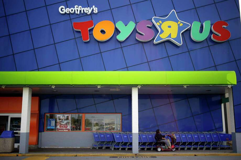 PHOTOS: Best toys of the 20th centuryA customer exits from a Toys R Us store in Louisville, Kentucky, on Sept. 18, 2017.See which toys shaped the 20th century... Photo: Bloomberg Photo By Luke Sharrett. / © 2017 Bloomberg Finance LP
