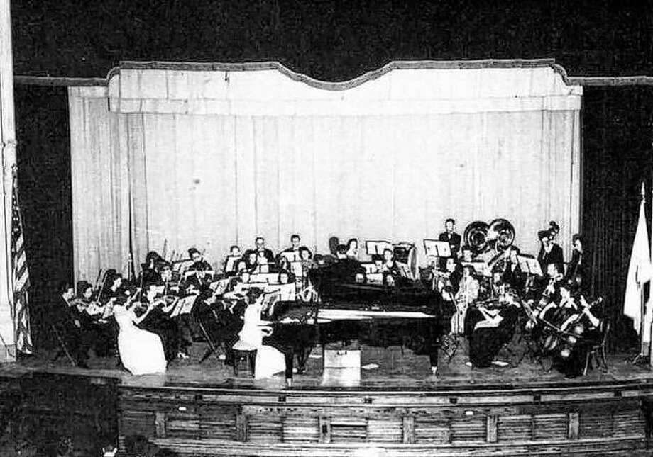 In February of 1942, the Alton Symphony presented a concert in the auditorium of Alton Senior High School. The symphony was composed of local musicians and presented regular concerts, often accompanied by nationally known musicians. The Alton Civic Orchestra and the Greater Alton Concert Association presented versatile programs to enthusiastic audiences at Hatheway Hall. The Alton Youth Orchestra provides fine music presentations by Alton area students. Photo: File Photo