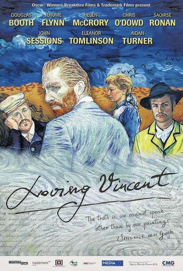 """Loving Vincent"" uses tens of thousands of oil-painted animation screens to tell its story about Vincent van Gogh."
