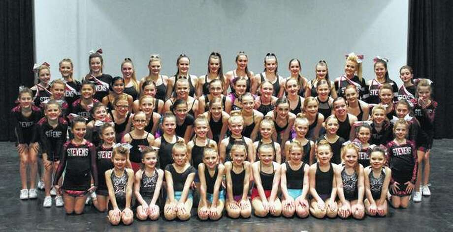 Members of the Stevens School of Dance competitive dance and cheer teams will perform Sunday at Illinois College's Sibert Theatre. Photo: Photo Provided