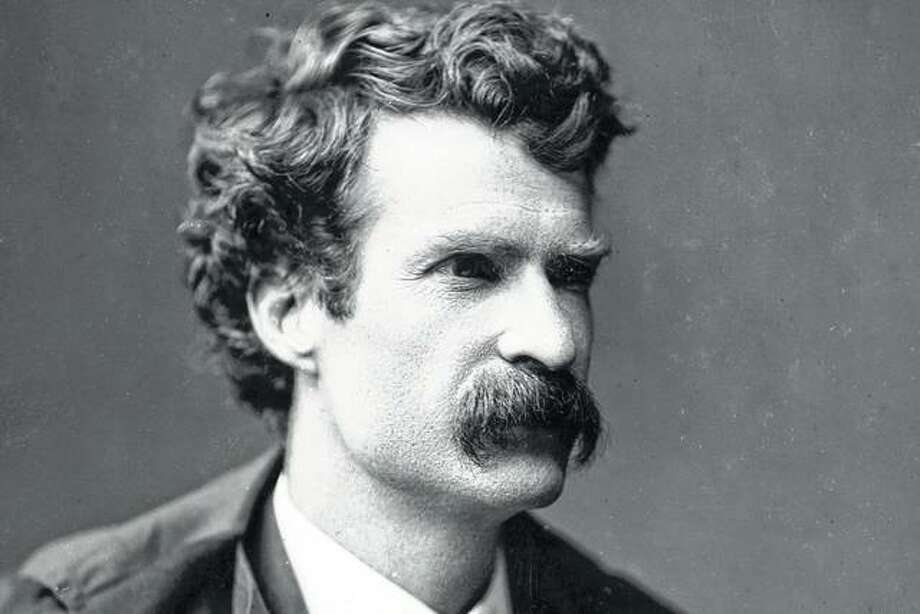 A young Mark Twain in an undated photo.