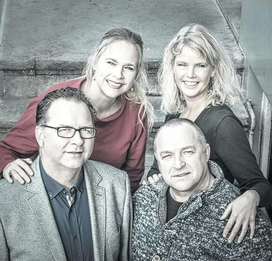The Dutch vocal quartet Quink consists of Kees Jan de Koning (from left), Elsbeth Gerritsen, Marjon Strijk and Harry van Berne. Photo: Photo Provided