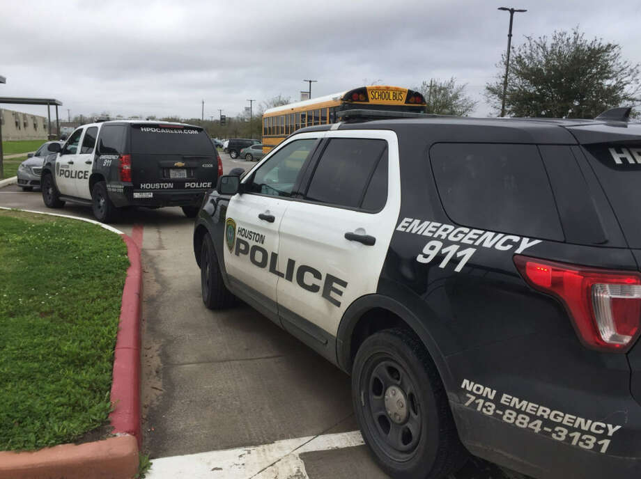 2/27/2018KIPP Sunnyside High School The high school, which is part of the KIPP charter school network, was placed on lockdown after a threat was reported to the Houston Police Department. Photo: HPD