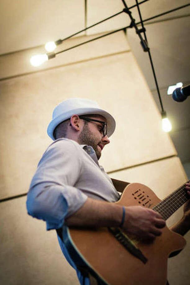 The Bonbon Plot's guitarist Will Buchanan. Photo: For The Telegraph