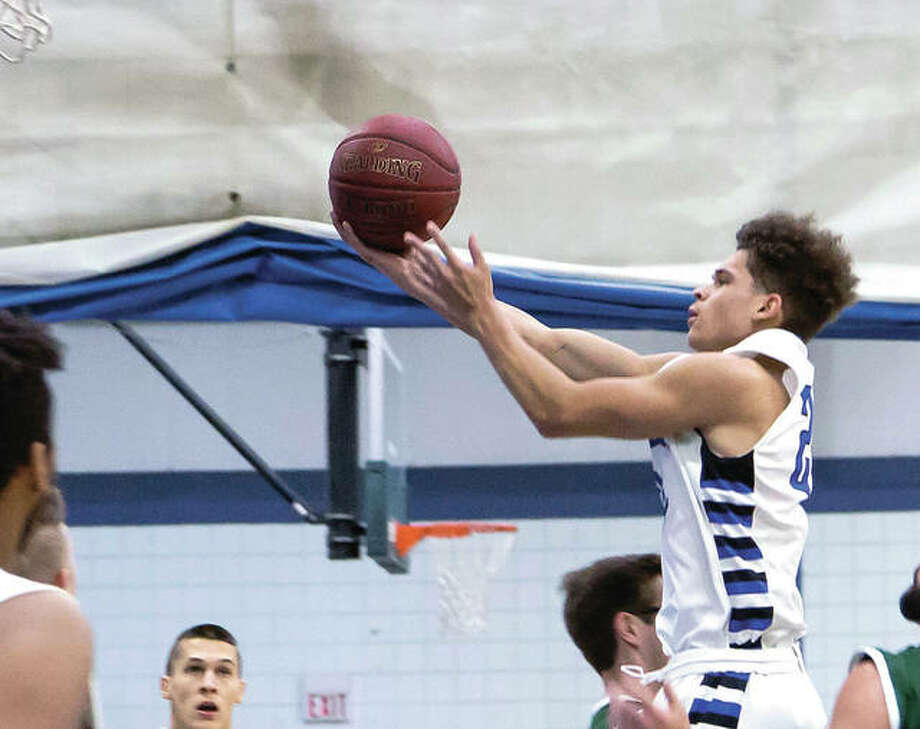 Dionte Raines of LCCC scored 18 points in Wednesday night's 79-68 loss at Kaskaskia. Raines is a 6-foot freshman guard from Anderson, Ind.