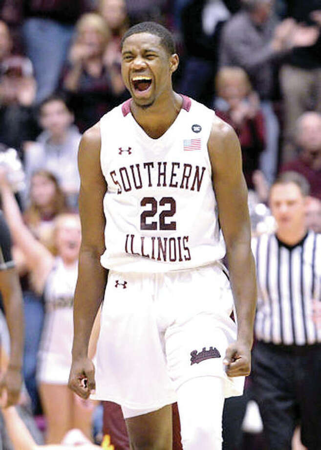 SIUC's Armon Fletcher, a junior from Edwardsville, scored 22 points Wednesday night to lead the Salukis past rival Missouri State 81-80 Wednesday night in Carbondale. Photo: AP File