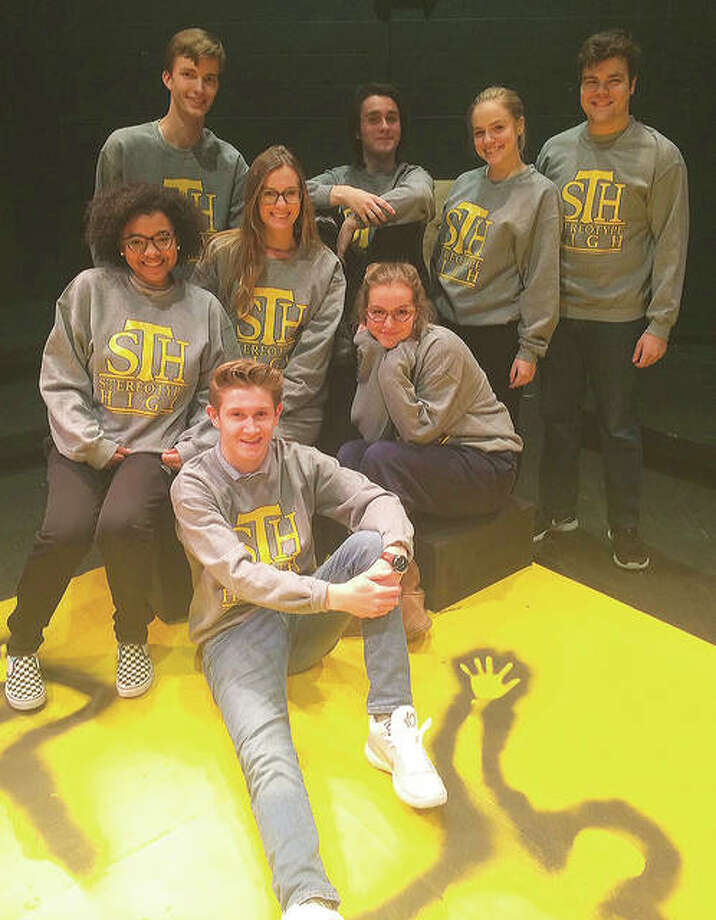 "Alton High School cast of ""Stereotype High,"" with performances from Thursday through Saturday. Photo: For The Telegraph"