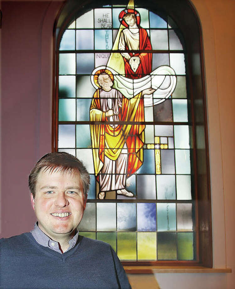 Rev. Daniel Ervin, who has been the pastor of LoveJoy United Presbyterian Church of Wood River since October, will be installed as the church's new permanent pastor on March 4. Photo: John Badman | The Telegraph