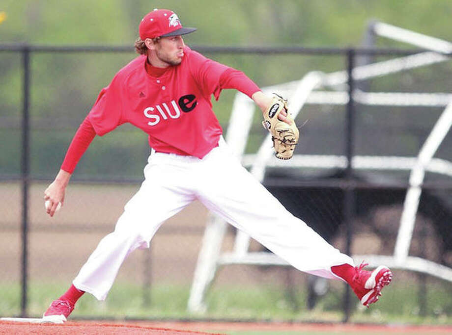 SIUE reliever Brock Fulkerson worked two scoreless innings out of the bullpen and struck out two Saturday, but the Cougars lost to Louisiana Tech 4-1 in Ruston, La. SIUE is 1-5. Photo: SIUE Athletics