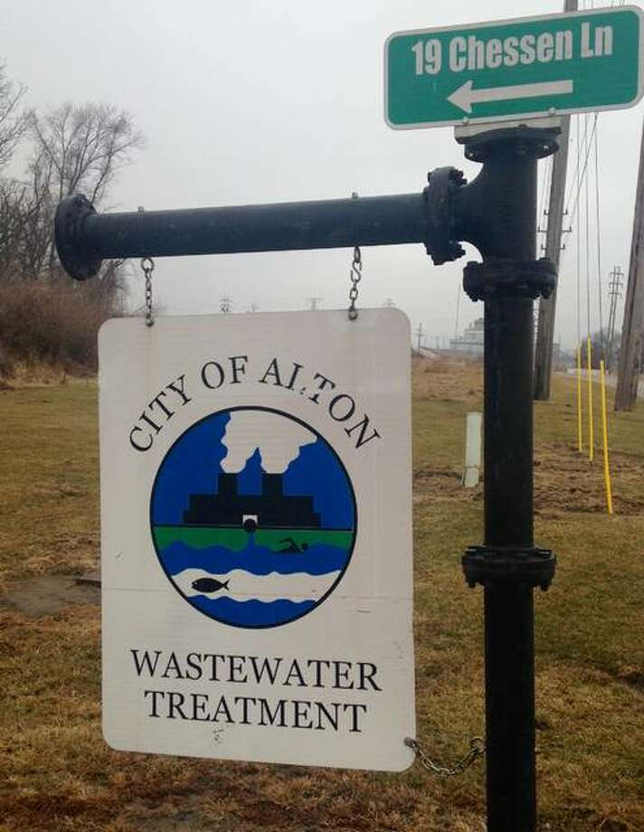 Alton aldermen will vote Wednesday on whether to proceed with the process of selling the city's sewer treatment plant and sanitary sewer system to Illinois American Water. Negotiations and other aspects of a sale would take months. Photo: Linda N. Weller | The Telegraph