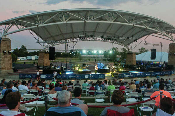 Concert-goers take in the Air Supply show at the Liberty Bank Alton Amphitheater last July. The summer lineup for the 2018 season was announced Monday.
