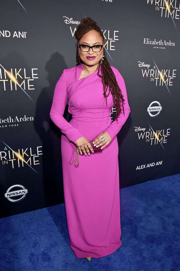 Director Ava DuVernay in Cushnie Et Ochs  Photo: Alberto E. Rodriguez, Getty Images For Disney / 2018 Getty Images