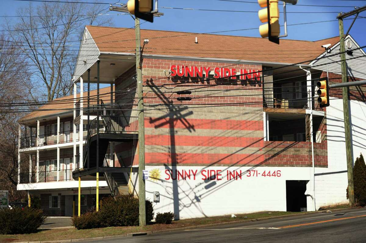 The Sunnyside Inn at 174 Lake Street in Bridgeport, Conn. where a homicide occurred on Monday night.