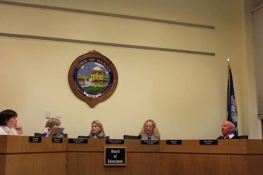 The Board of Selectmen approved the Fiscal Year 2019 budget on Feb. 26, 2018. The approved budget comes in at 1.05 percent lower than that of the current fiscal year. Photo: Humberto J. Rocha / Contributed Photo / New Canaan News contributed