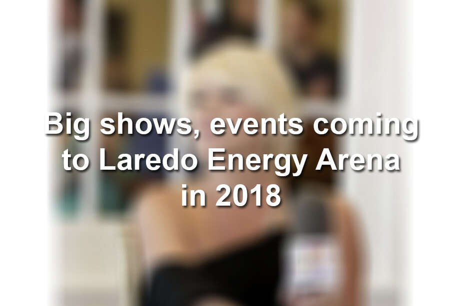 Here's who's coming to the Laredo Energy Arena this year. Photo: Laredo Morning Times