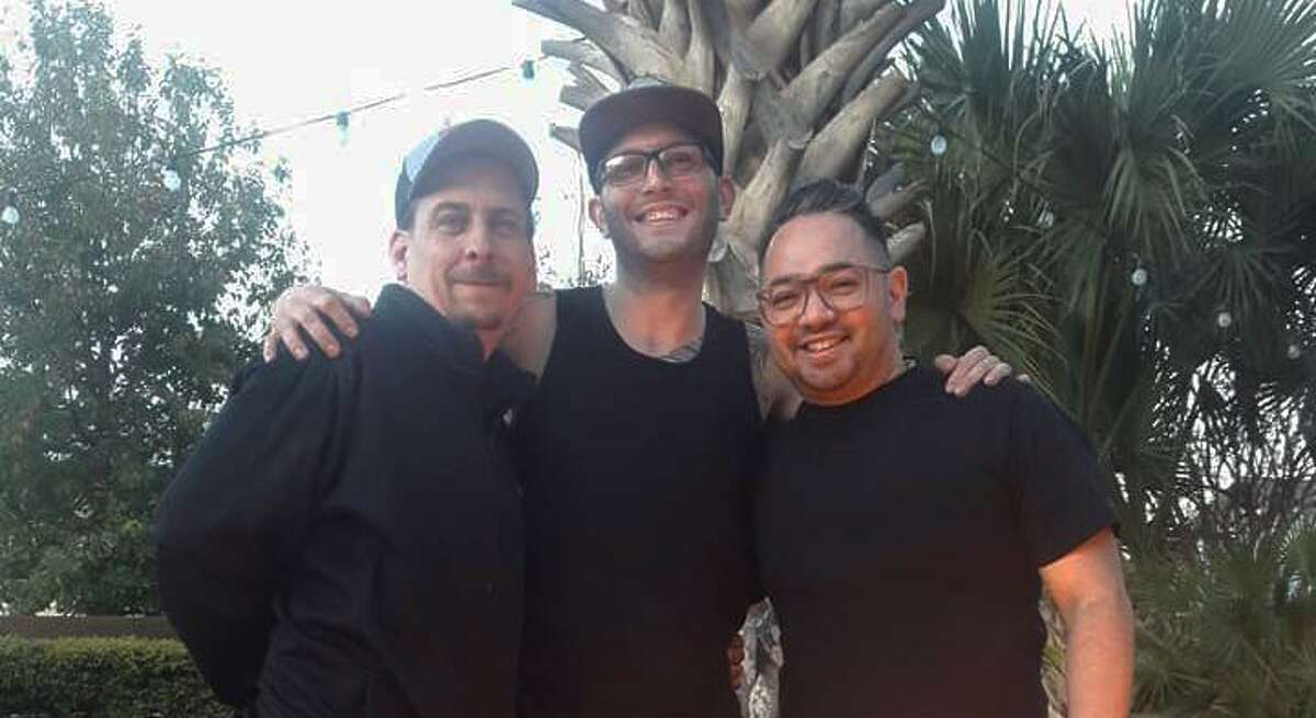 San Antonio chefs (from left) Stephen Paprocki, Michael Grimes and Tony Hernandez have been invited to cook a five-course dinner at the James Beard House in New York City May 3, as well as two other events where they are planning a