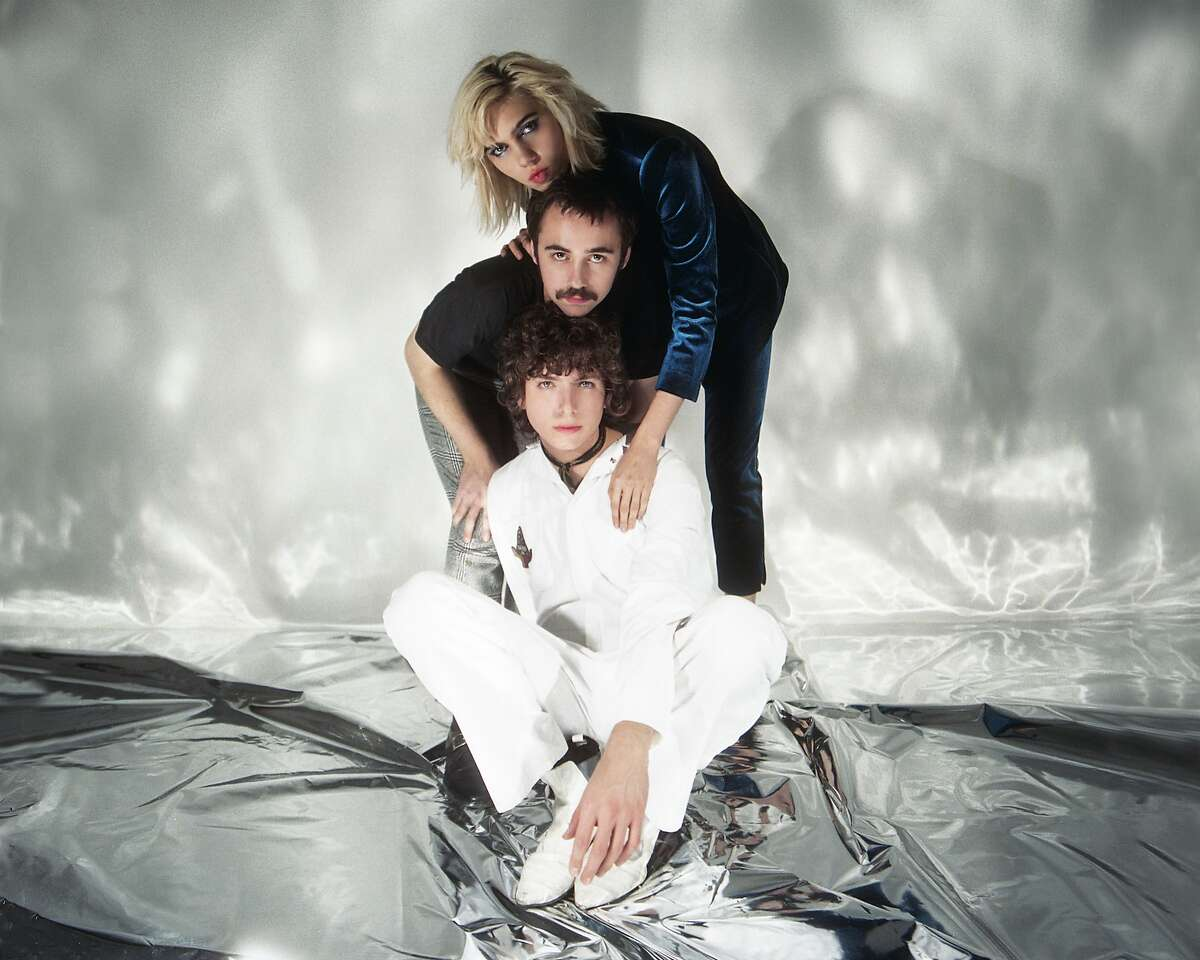 Sunflower Bean consists of�Nick Kivlen�(lead guitar and vocals),�Jacob Faber�(drums), and�Julia Cumming(bass and lead vocals).