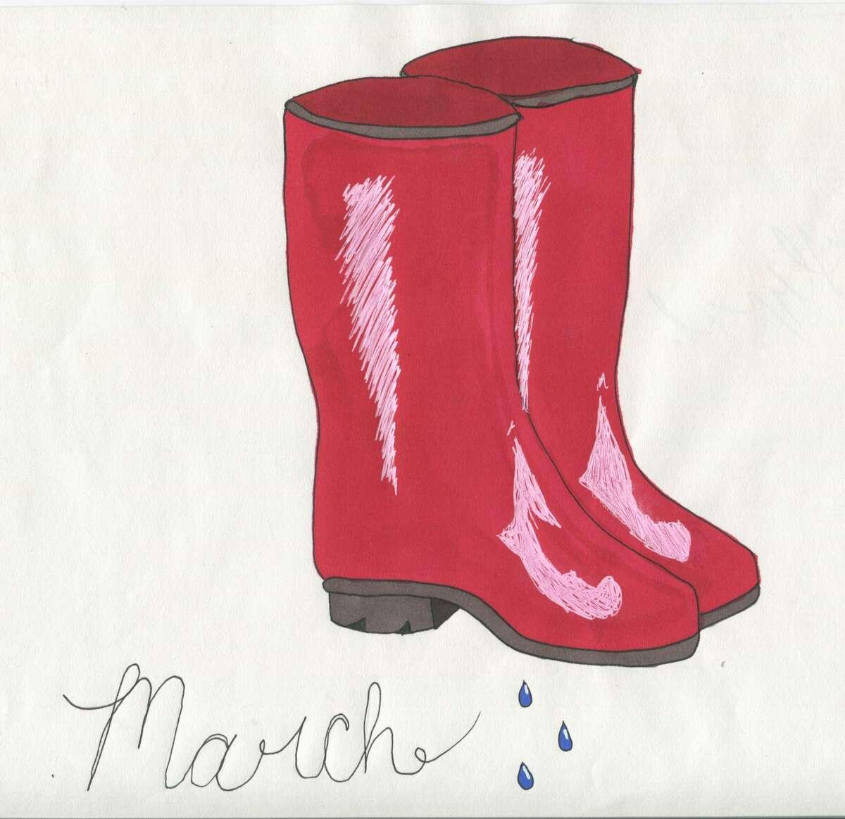 Caitlyn Maurer, 10th grade, Ubly High School