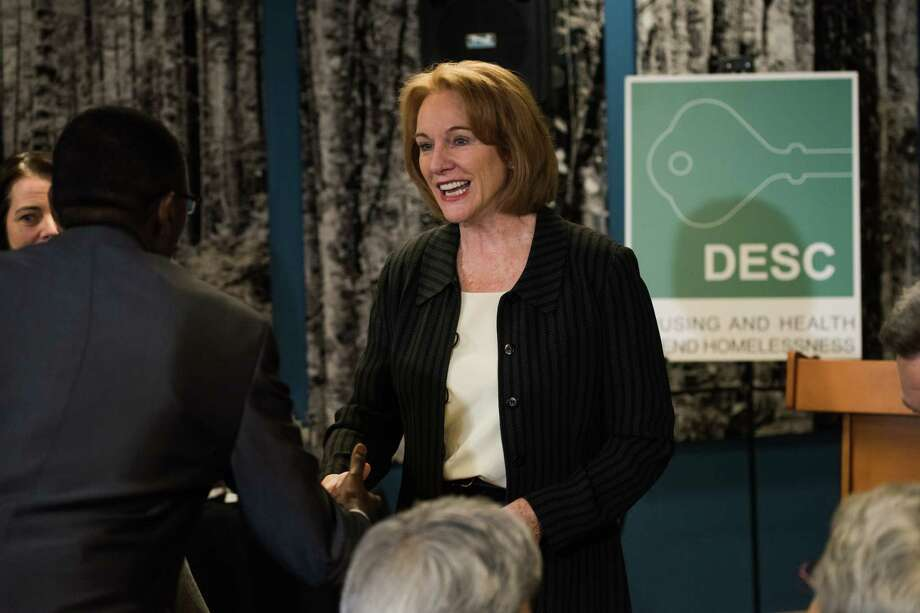 Mayor Jenny Durkan on Wednesday announced a plan to add 522 shelter beds through the sale of a city-owned property. She also promised more transparency on how money is being spent to curtail the homelessness crisis in Seattle. Photo: GRANT HINDSLEY, SEATTLEPI.COM / SEATTLEPI.COM