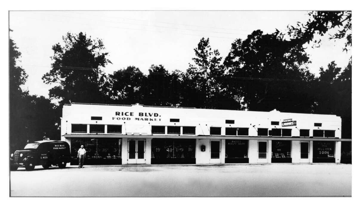 1937The first Rice Market opened in 1937, taking its name from its location at 2501 Rice Blvd. in the village.