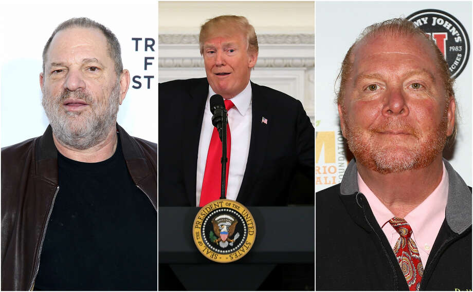 Harvey Weinstein, Donald Trump and Mario Batali have issued apologies —  or a lack thereof — in recent months. Photo: Getty Images