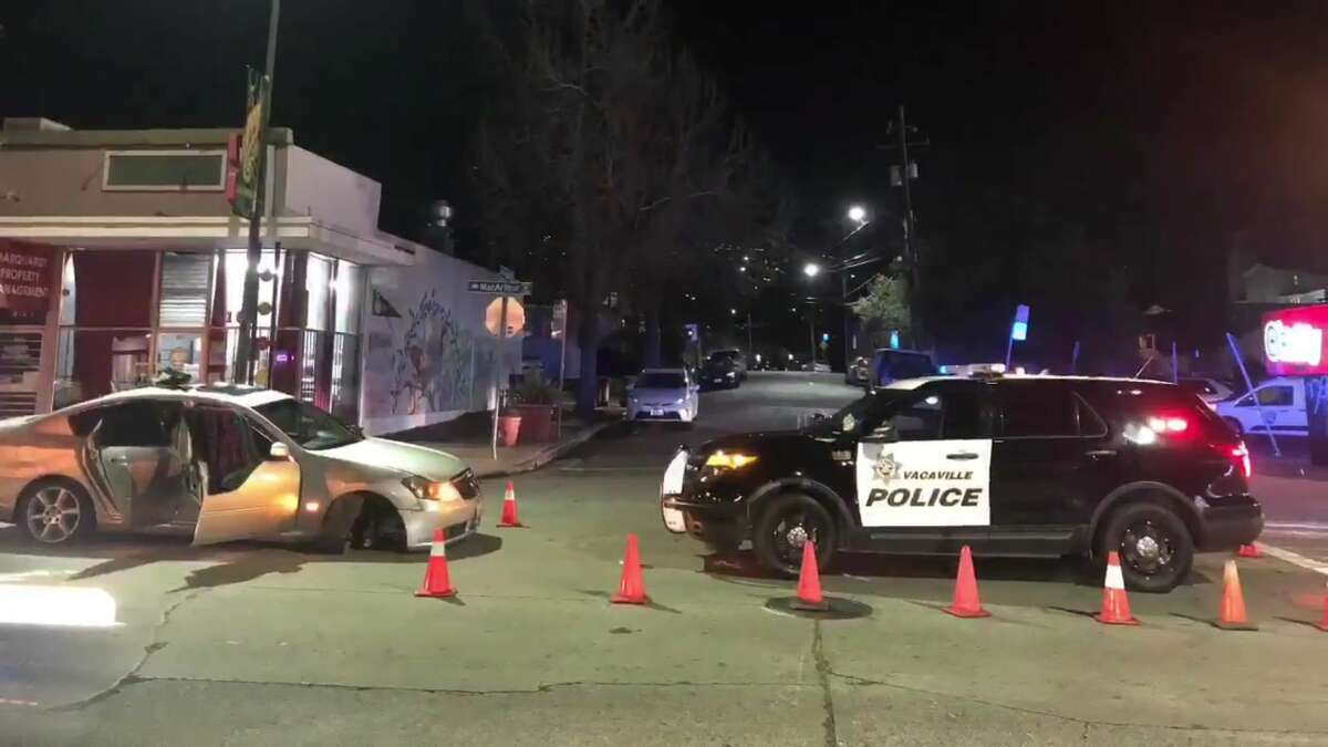 The Vacaville Police Department along with the California Highway Patrol pursued a vehicle from Vacaville to Oakland, which resulted in the arrests of Derriun Riggins, Charles Bradshaw and Delon Barker.