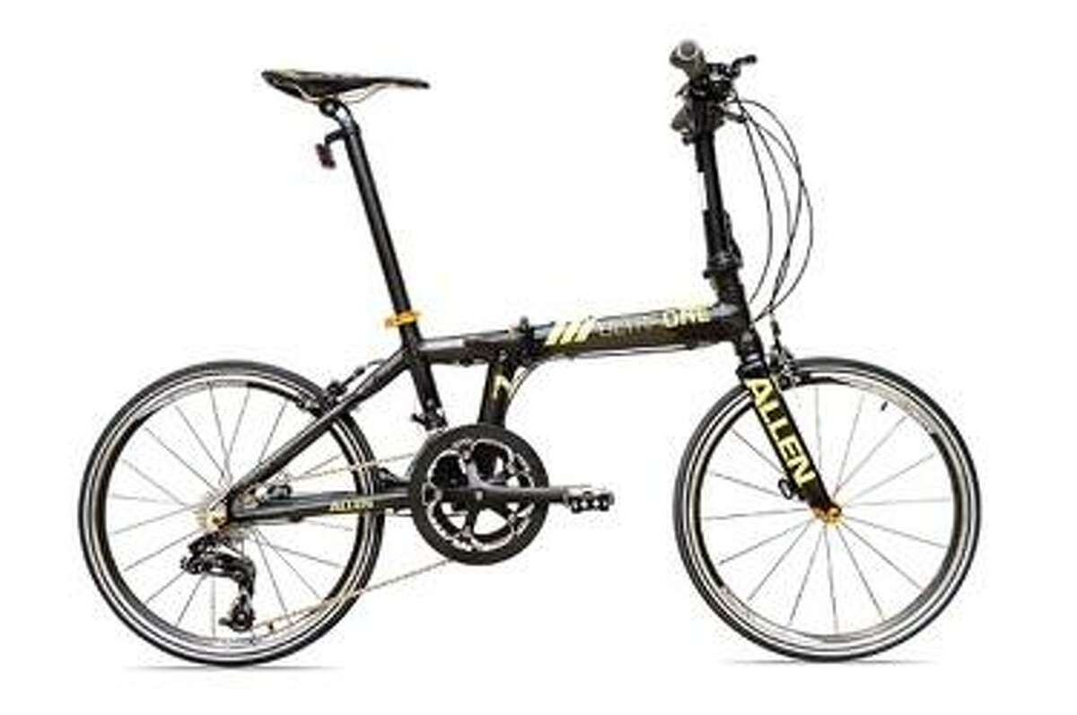 Allen Sports is recalling about 150 UltraX and Ultra1 Folding Bicycles because the bike?'s frame can break, posing a fall hazard. Photo courtesy of the U.S. Consumer Product Safety Commission.