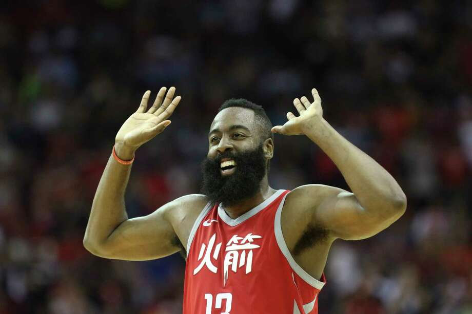 Guard James Harden likes the fact the Rockets have resorted to any number of ways to roll through the NBA and the month of February to the best record in the league at 48-13. His coach shares his attitude. Photo: YCL, Staff / © 2018 Houston Chronicle