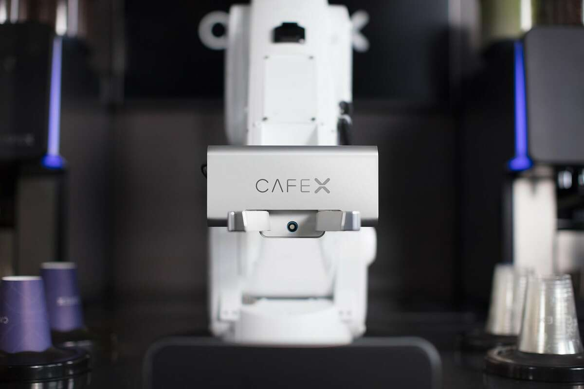 Cafe X's new robot can make nitrogen-infused cold brew coffee.