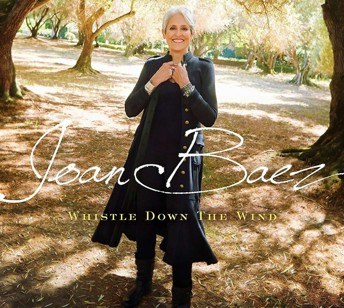Joan Baez's final tour follows the release of 'Whistle Down the Wind'