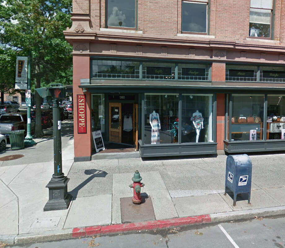Marcus Blaque, a boutique selling men's and women's clothing, is planned for 260 Broadway in Troy, a space previously occupied by The Shoppe. Photo: Google Maps