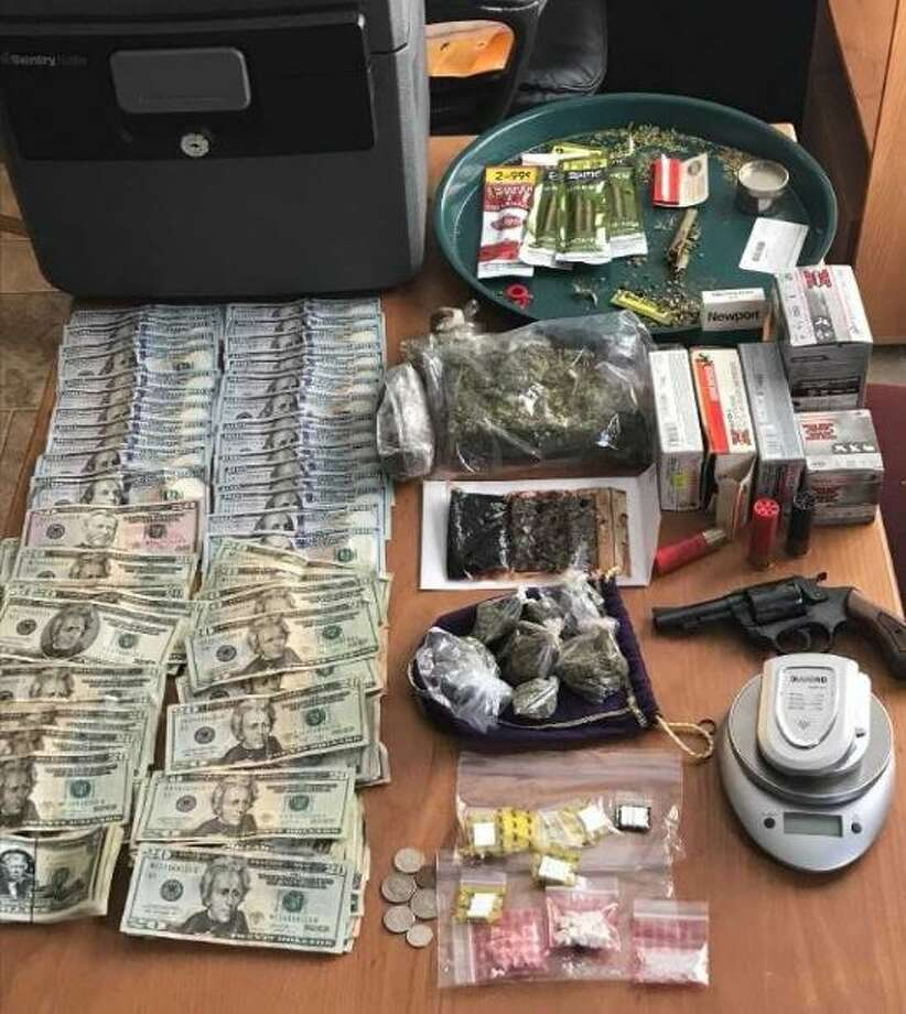 Items taken during a Feb. 27, 2018 drug bust in Jasper.Photo: Jasper PD