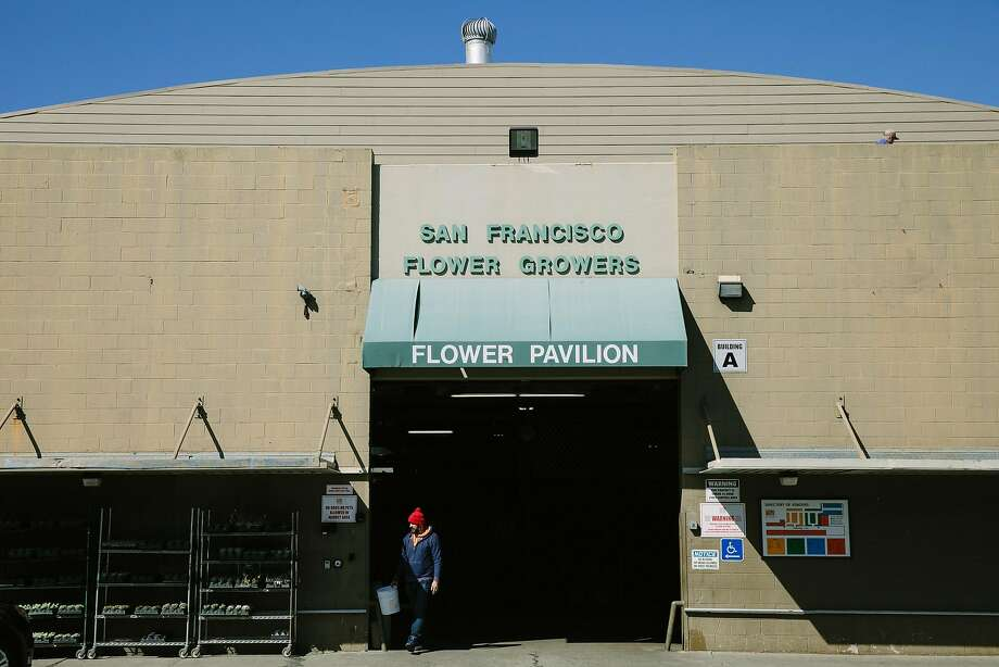SF Flower Mart in the South of Market neighborhood in San Francisco, Calif., Tuesday, Feb. 27, 2018. Photo: Mason Trinca / Special To The Chronicle