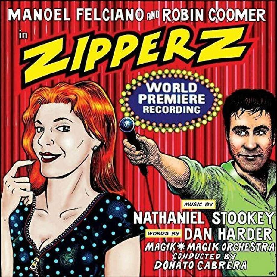 """Nathaniel Stookey, """"Zipperz."""" Photo: Ghostlight Records"""