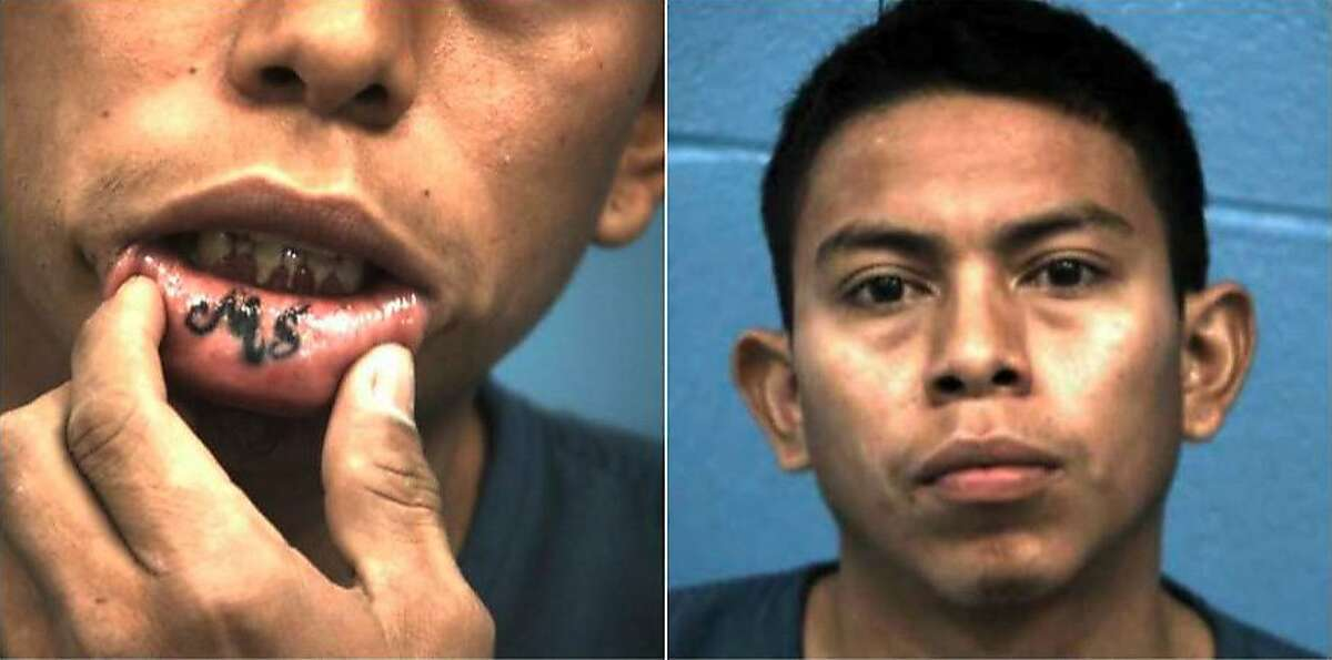 ATTEMPTED MURDER:  Two documented MS-13 gang members (one pictured above) were arrested in February on charges of attempting to commit murder. They were arrested in an Austin suburb on a Harris County warrant, according to previous reports.