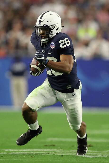 Penn State running back Saquon Barkley is vying to be the No. 1 overall selection. Photo: Christian Petersen, Staff / 2017 Getty Images