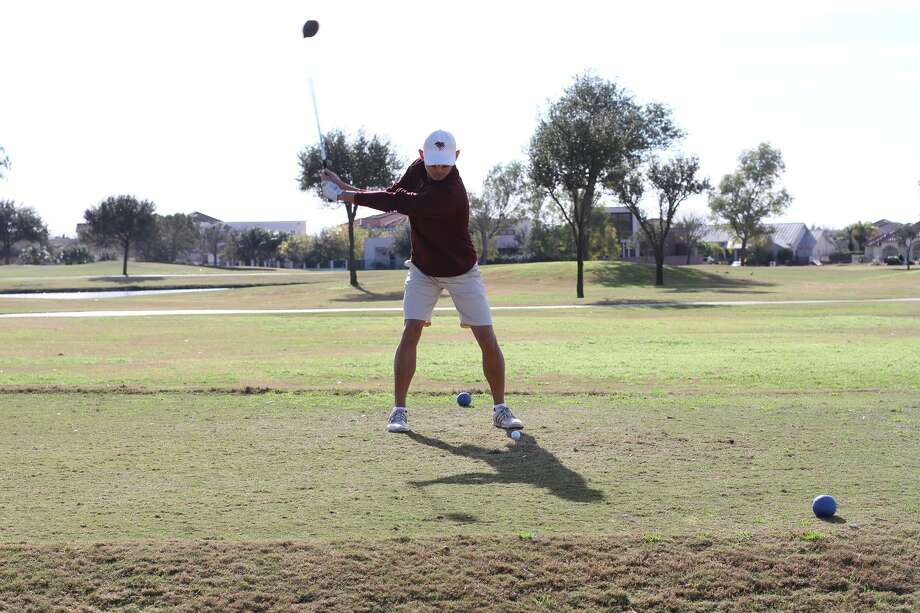 TAMIU's Justin Kim tied for first place at the 2018 South Padre Intercollegiate on Tuesday. Photo: Courtesy Of TAMIU Athletics
