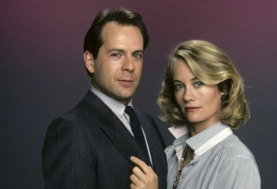 """Moonlighting,"" a groundbreaking weekly series on ABC, debuted March 3, 1985 with a two-hour pilot episode. It starred Cybill Shepherd, a genuine movie star who had appeared in ""The Last Picture Show"" and ""Taxi Driver,"" and Bruce Willis, an unknown who had just a few TV bit parts to his credit. Photo: ABC Photo Archives/ABC Photo Archives/Getty Images"