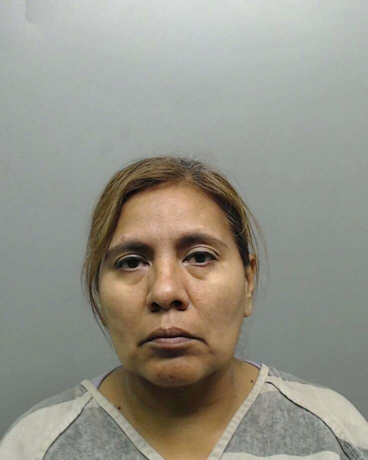 Alma Rosa Gonzalez, 54, was charged with abandoning, endangering a child causing imminent danger of bodily injury. Photo: Webb County Sheriff's Office