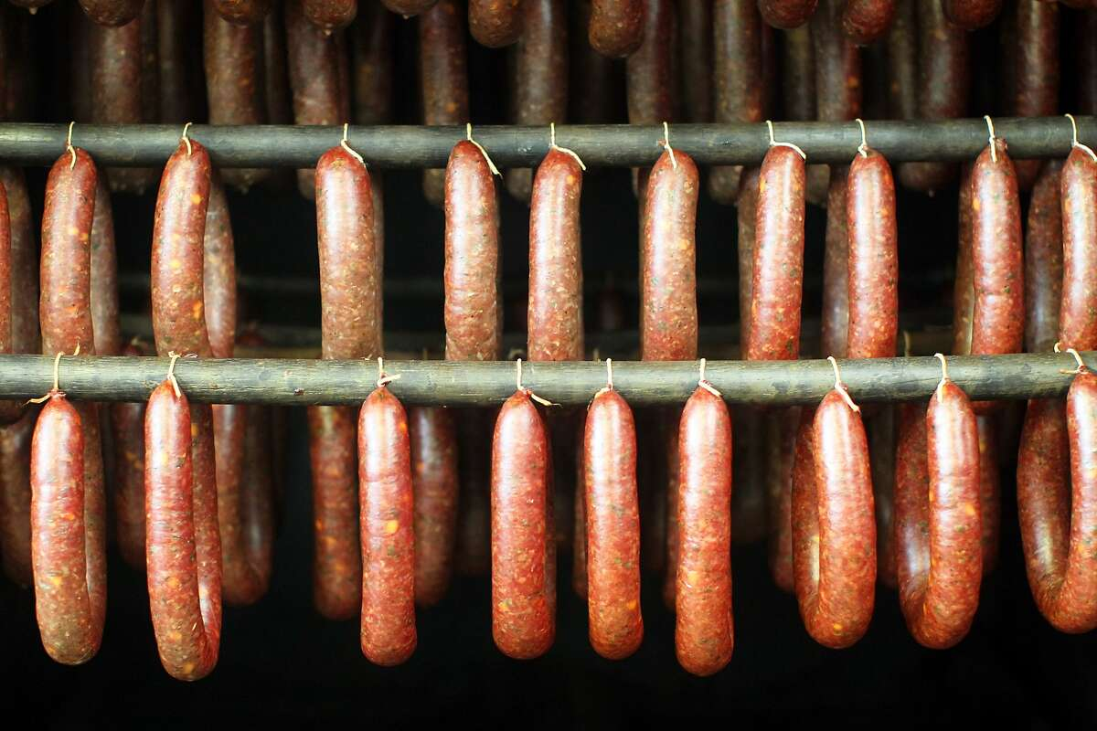 Alaska Reindeer sausage Description: Sausage made from reindeer meat. Where to find in Houston: The Exotic Meat Market is your best bet.