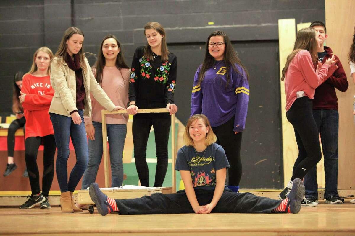 "The Bethlehem High School production of ""Disney's Beauty and the Beast"""