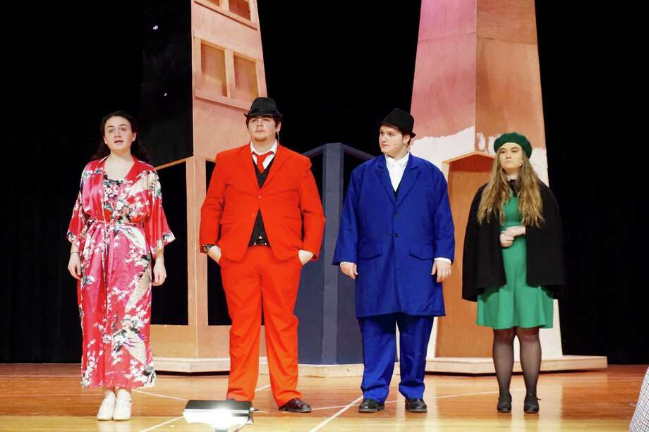 "The Cairo-Durham High School production of ""Guys and Dolls."""