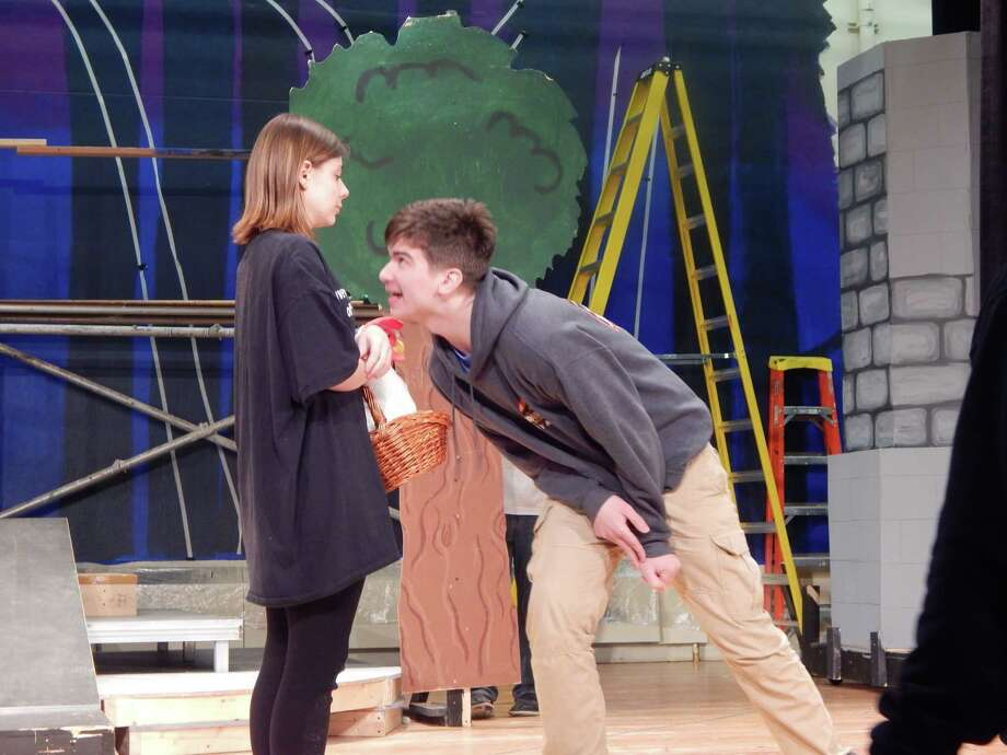 "The Hudson Falls High School production of ""Into the Woods"" Photo: Provided"