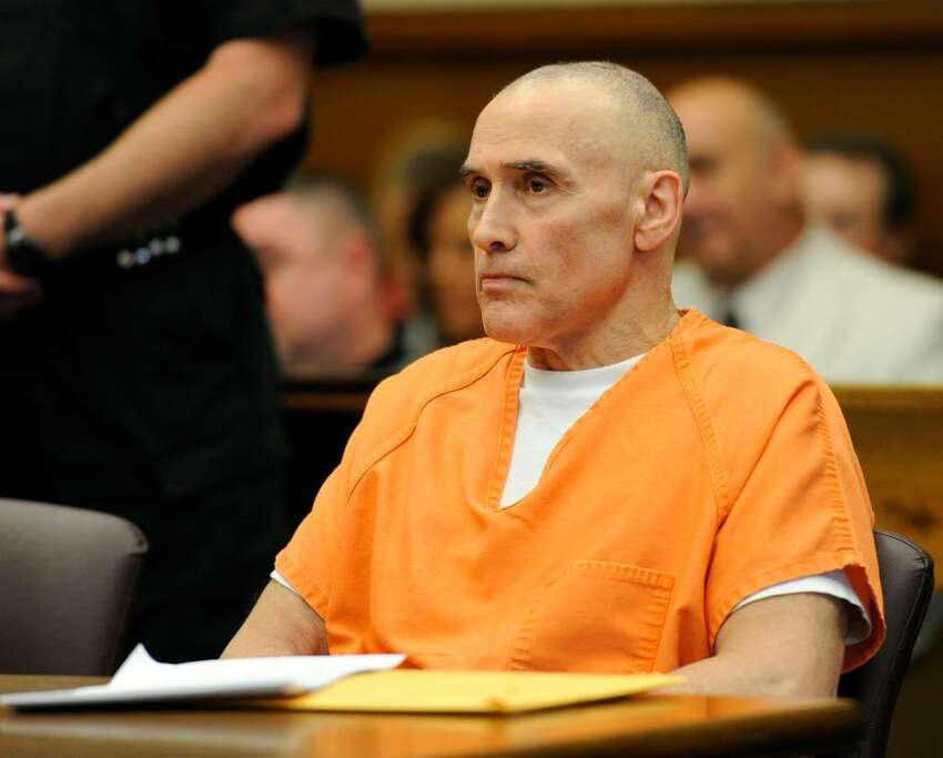 Steven Raucci sits in the courtroom today, June 8, 2010, as Judge Polly Hoye sentenced him to 23 years to life in state prison for waging a campaign of bombings and vandalism against his perceived enemies. (Skip Dickstein / Times Union)