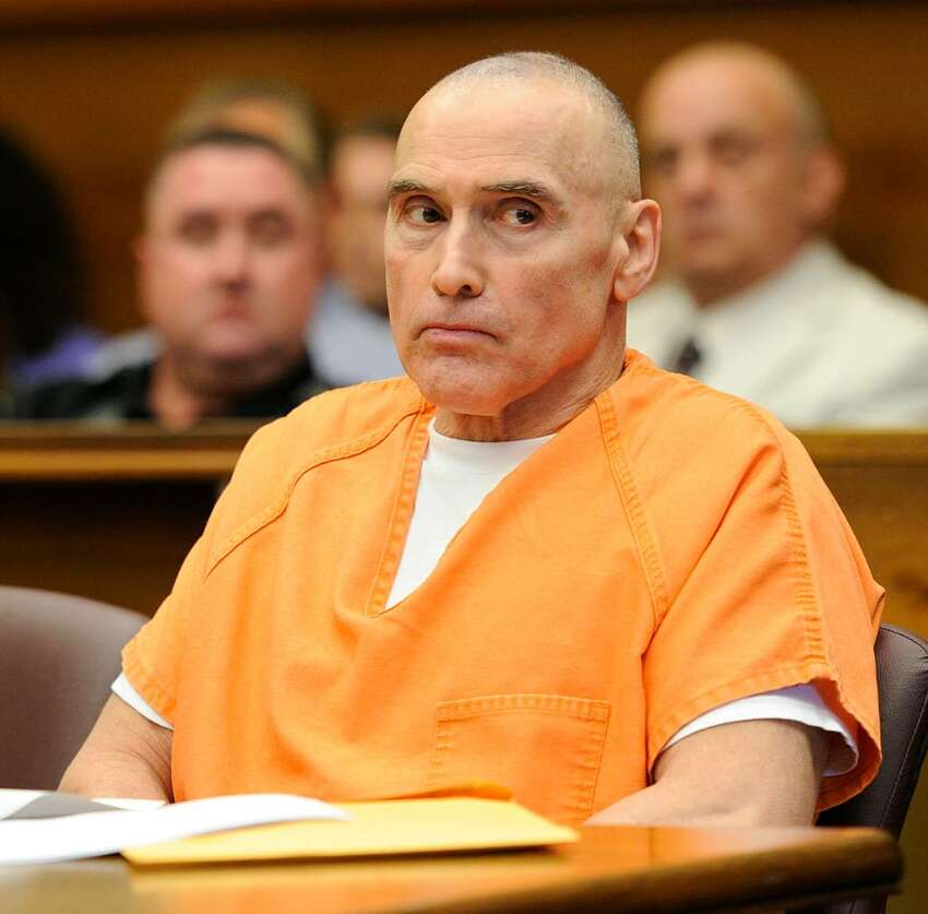 Steven Raucci sits in the courtroom today, June 9, 2010, as Judge Polly Hoye sentenced him to 23 years to life in state prison for waging a campaign of bombings and vandalism against his perceived enemies. (Skip Dickstein / Times Union)