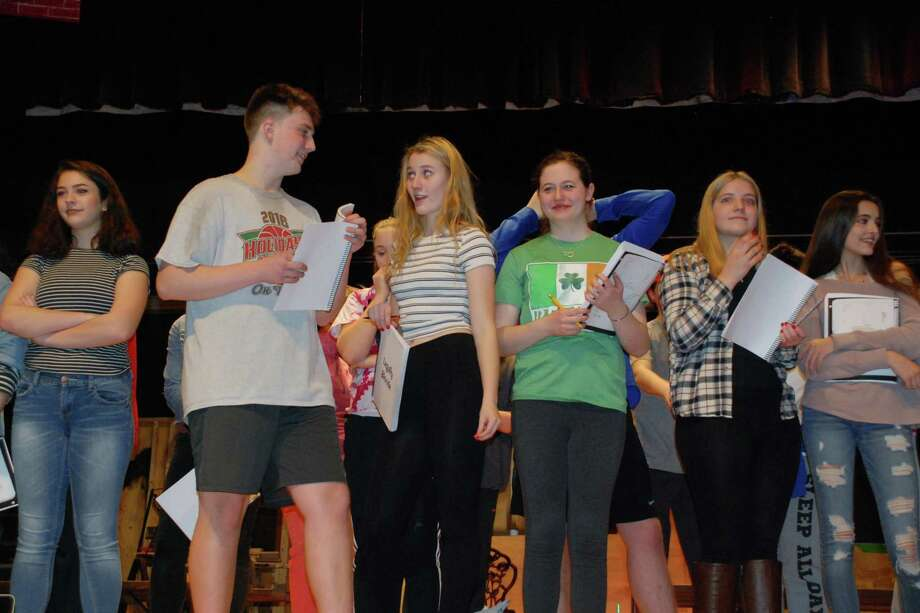 "Mayfield Junior Senior High School production of ""Legally Blonde"" Photo: Provided"