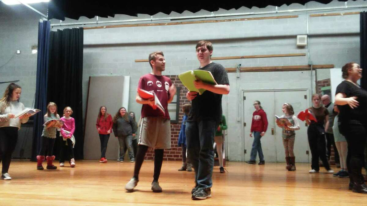 """Hadley-Luzerne High School's production of""""The Wizard of Oz."""""""