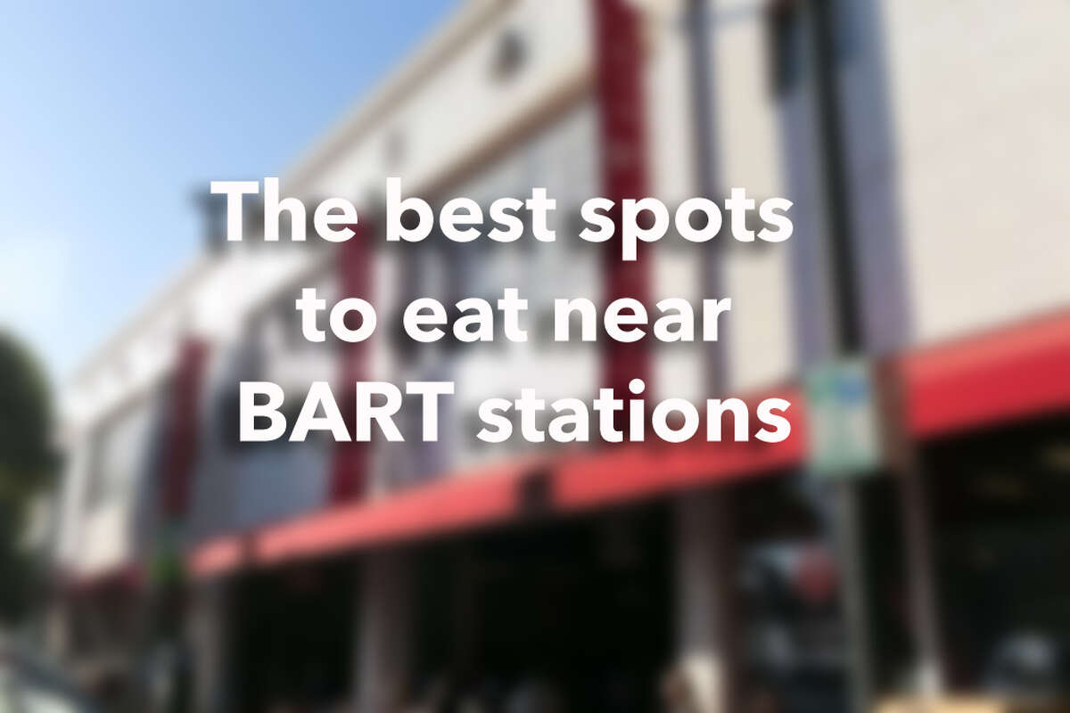 The best sports to eat near BART stations.